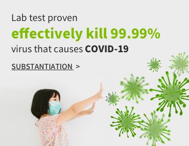 Kill 99.99% SARS-CoV-2 that causes COVID-19 in 30 seconds